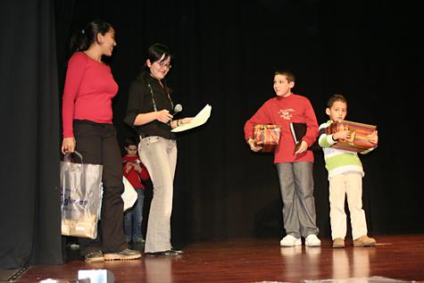 Los ganadores del I Concurso de Instrumentos recogen sus premios