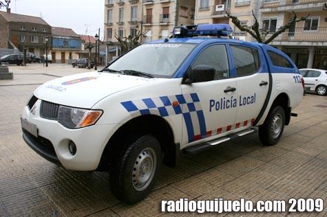 El todoterreno de la Policía Local ya patrulla las calles de Guijuelo