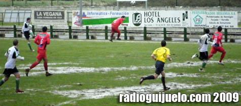 El Guijuelo ganó por 1 a 3 al Racing de Santander B