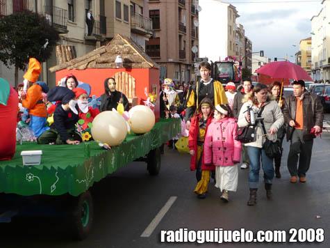 El desfile pasó por Filiberto Vilalobos