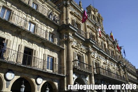 La Plaza Mayor de Salamanca acoge los actos de bienvenida