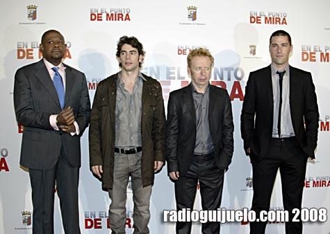 El equipo de la película que visitó Salamanca