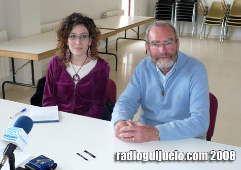 John Eltham y Beatriz Rendo se acercaron hasta Radio Guijuelo para explicar todo lo relacionado con Daytal Resources