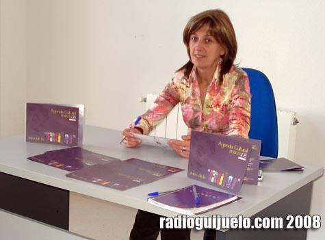 Maye Álvarez presentó la Agenda Cultural de marzo dedicada a la mujer