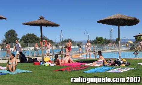 Imagen de las piscinas municipales el pasado verano