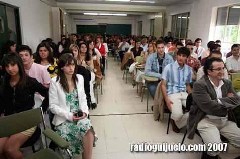 Promoción de Bachillerato del curso pasado