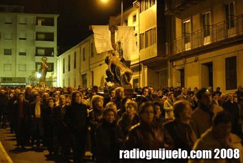 Imagen de la procesión de Semana Santa de Guijuelo en 20080