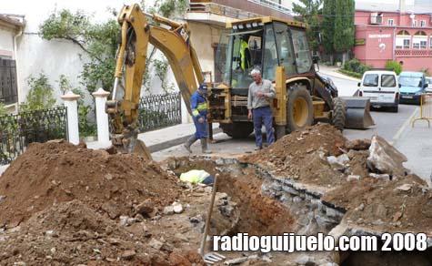 Estado actual de la calle David Hernández