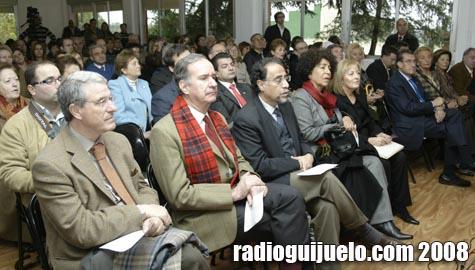 Imagen del público asistente al panel de conferencias en Ledrada
