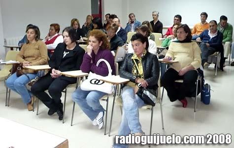 Imagen de los asistentes a la reunión de Ascogui