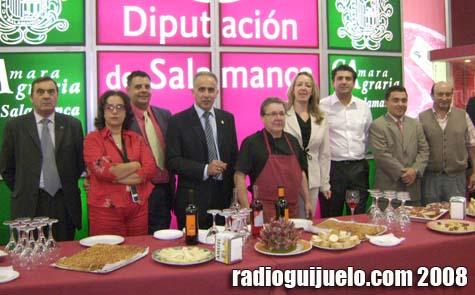 Imagen del stand conjunto de Diputación y Cámara Agraria