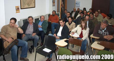 Imagen de la reunión de Adrecag en Vecinos del pasado jueves