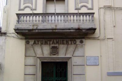 Fachada del actual Ayuntamiento de Guijuelo