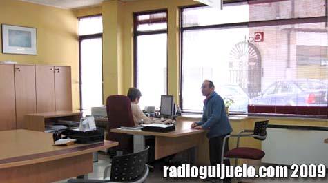 Interior de la oficina del ECyL en Guijuelo