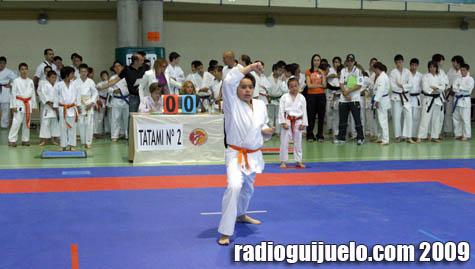 El Campeonato Provincial contó con 324 karatecas de Salamanca