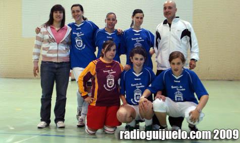 Imagen del equipo ganador