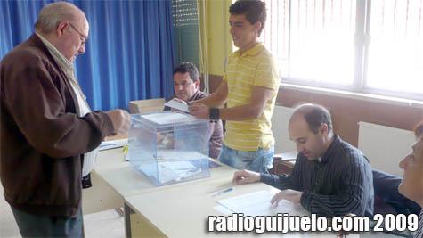 Imagen de los últimos comicios en Guijuelo