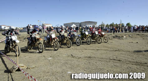 El motocross fue protagonista de la tarde del sábado