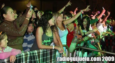 Público en el concierto de Los Rebujitos