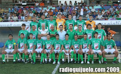 Plantilla del Club Deportivo Guijuelo 2008/2009