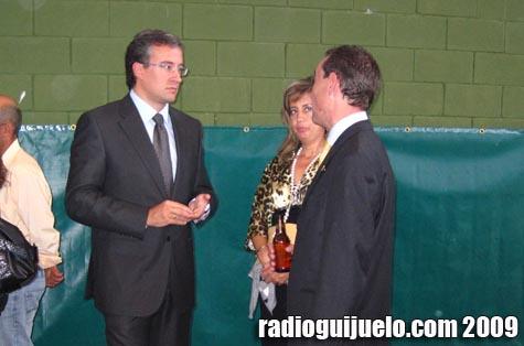 Julián Ramos, en un instante durante el convite