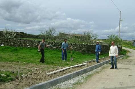 Imágenes de las obras en Cabezuela