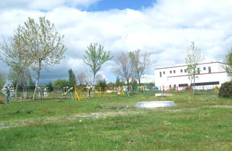 Vista de la zona recreativa del parque de La Dehesa