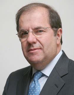 El presidente de la Junta de Castilla y León, Juan Vicente Herrera