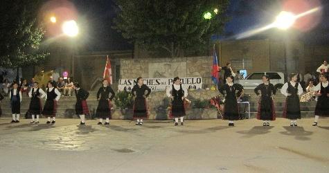 Grupo Folclórico el Torreón en las Noches del Pozuelo. Foto archivo