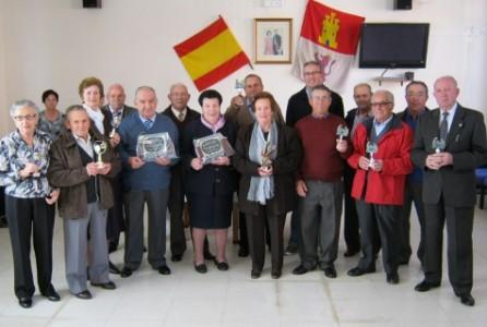 Miembros del Hogar del Jubilado. Foto archivo