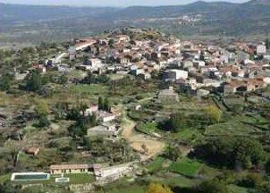 Vista aérea de Sanchotello