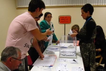 Elecciones en Guijuelo. Foto archivo