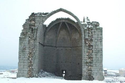 El Torreón de Guijuelo en invierno. Foto archivo