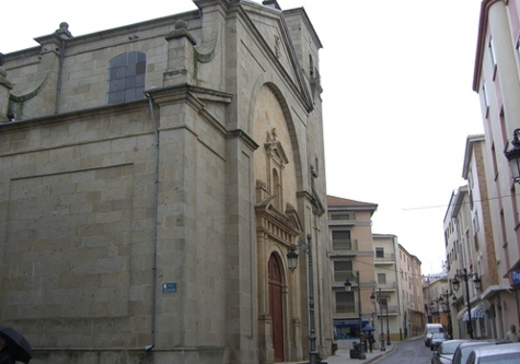 Imagen de la iglesia parroquial de Guijuelo