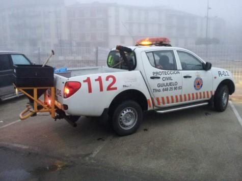 Vehículo Protección Civil. Foto archivo