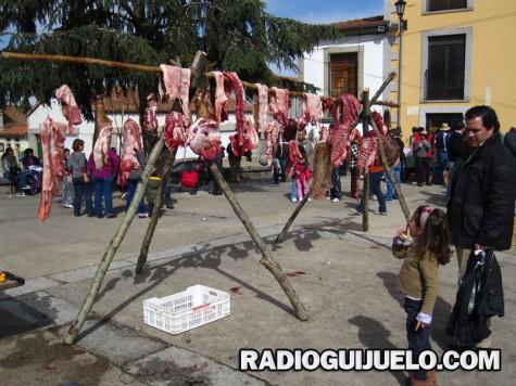 Matanza tradicional en Los Santos. Foto archivo