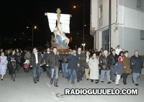 Procesión del Viernes Santo en Guijuelo. Foto archivo