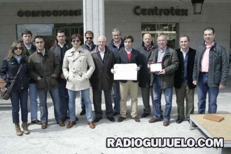 Representantes de la Asociación Taurina de Guijuelo. Foto archivo