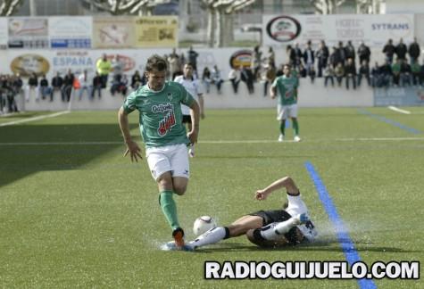 Romero en un partido ante la U.D. Salamanca