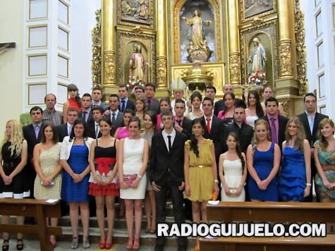 Confirmaciones en Guijuelo. Foto archivo