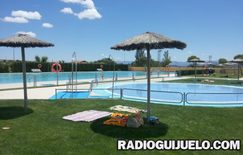 Imagen de la piscina el pasado sábado