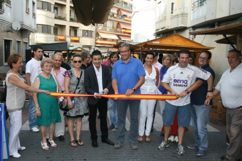 Inauguración de la Feria de Día. Foto archivo