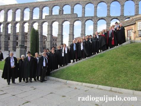 Asociación de capistas de Guijuelo en Segovia. Foto archivo