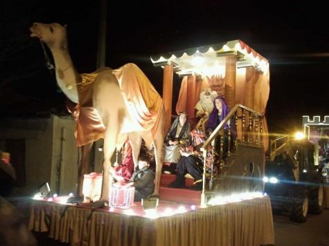 Cabalgata de los Reyes Magos en Guijuelo. Foto: Radio Guijuelo