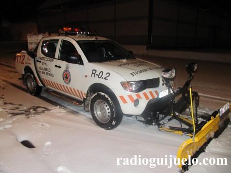 Protección Civil de Guijuelo. Foto archivo.