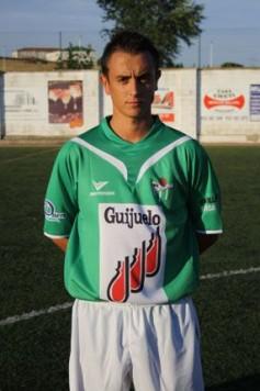 Garban con la camiseta del C.D. Guijuelo