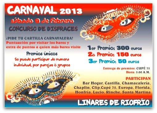 Carnaval en Linares de Riofrío
