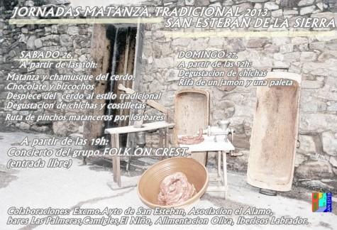 Programa de la matanza de San Esteban.