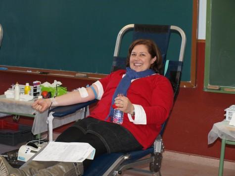 Donaciones de sangre en Santibañez. Foto Isidoro Sánchez