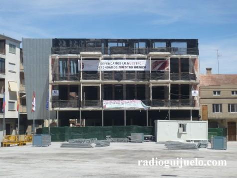 Futuro Ayuntamiento de Guijuelo. Foto archivo